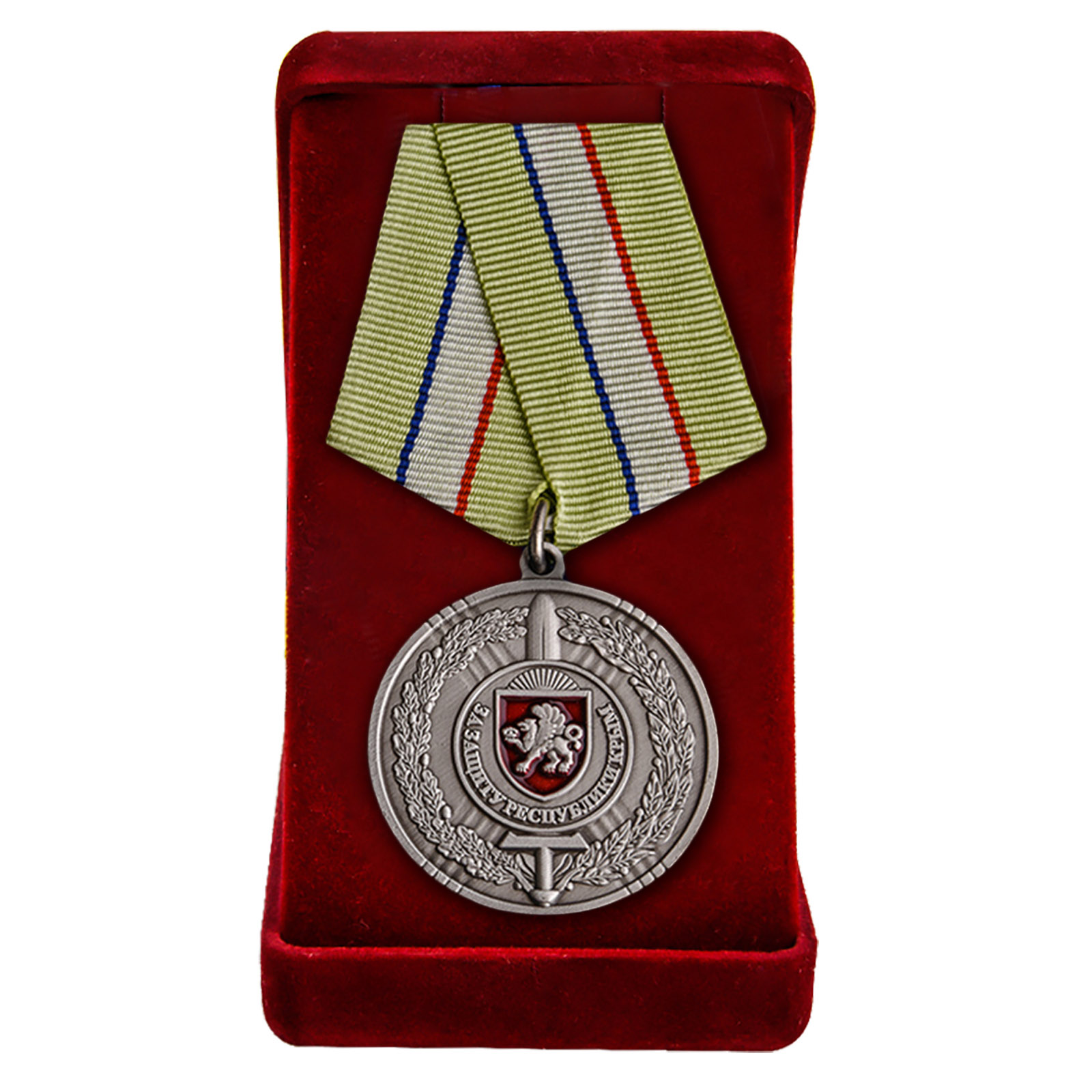 Купить медаль За защиту Республики Крым оптом или в розницу