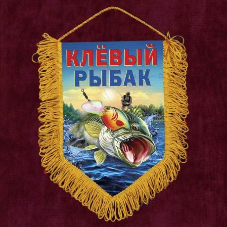 Сувенирные вымпелы для рыбаков и охотников в СПб