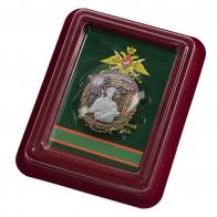 Наградной знак 55 Сковородинский ордена Красной звезды Пограничный отряд - в футляре