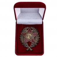 Наградной знак Красного командира (1918-1922 гг.) - в футляре
