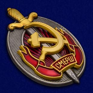 Наградной знак Заслуженный работник СМЕРШ - общий вид