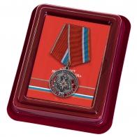 Нагрудная медаль к 30-летию МЧС России - в футляре