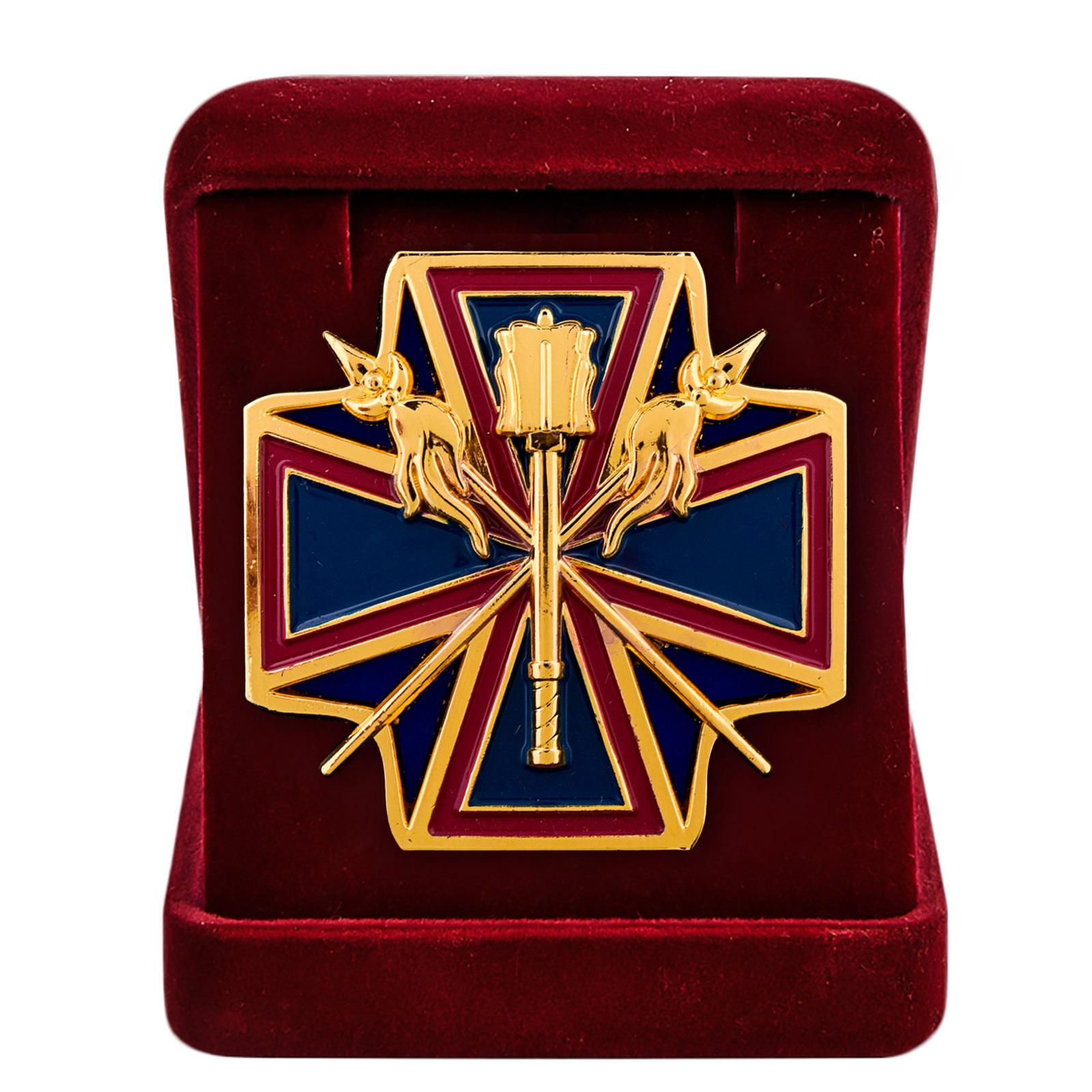 """Нагрудный крест """"За заслуги перед Кубанским казачеством"""" с наградным комплектом"""