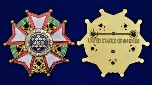 Нагрудный орден Легион почета США 1-й степени - аверс и реверс