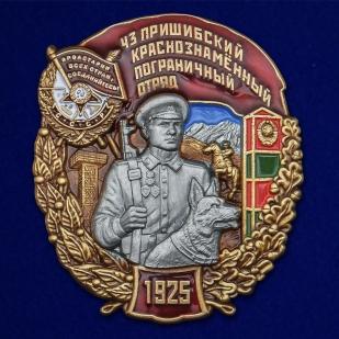 Нагрудный знак 43 Пришибский Краснознамённый Пограничный отряд