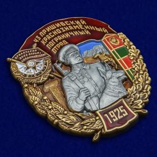 Нагрудный знак 43 Пришибский Краснознамённый Пограничный отряд - общий вид