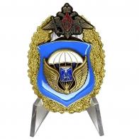 Нагрудный знак 76-я гвардейская десантно-штурмовая дивизия ВДВ на подставке
