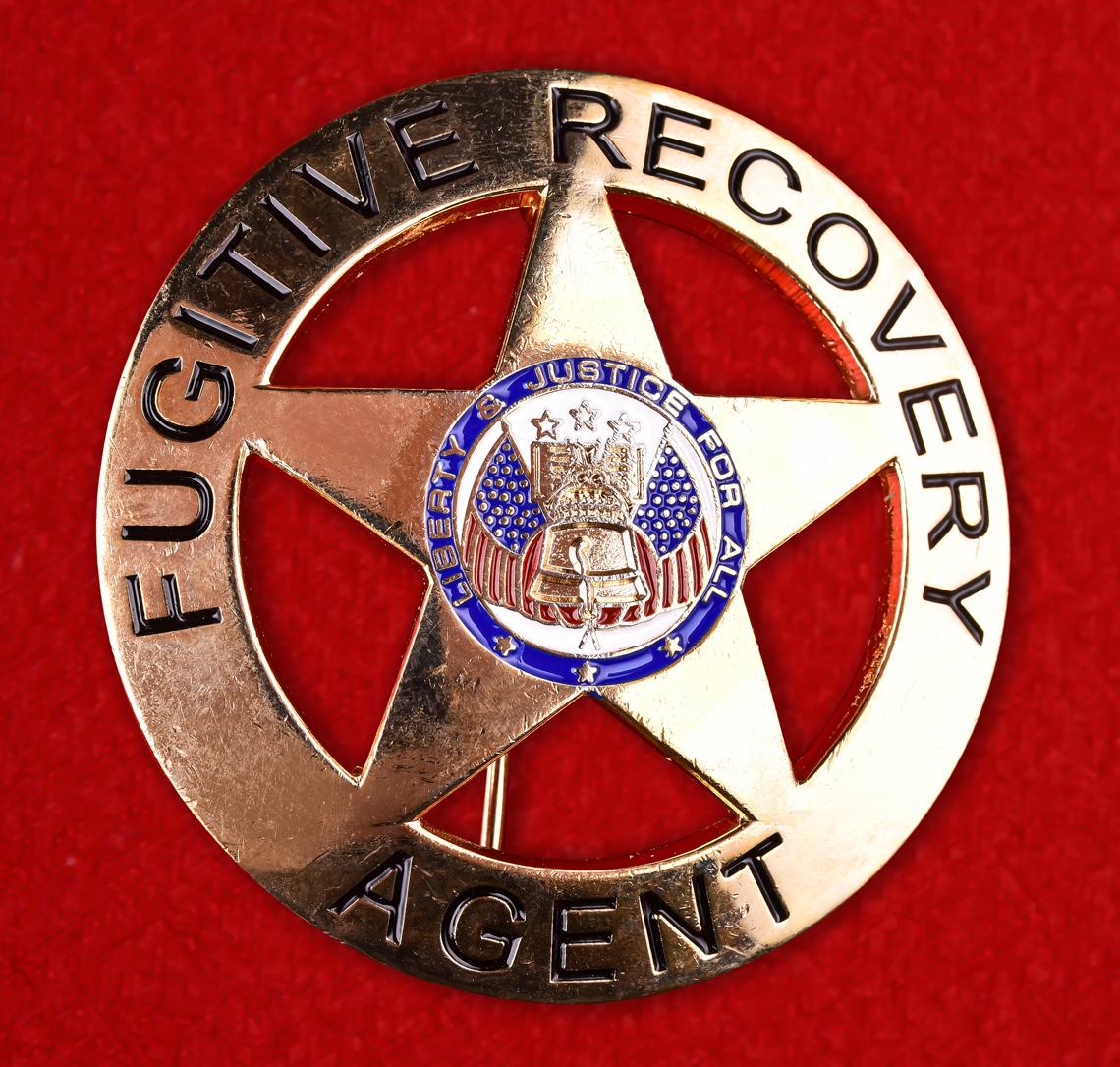 Нагрудный знак Агента по розыску беглых преступников