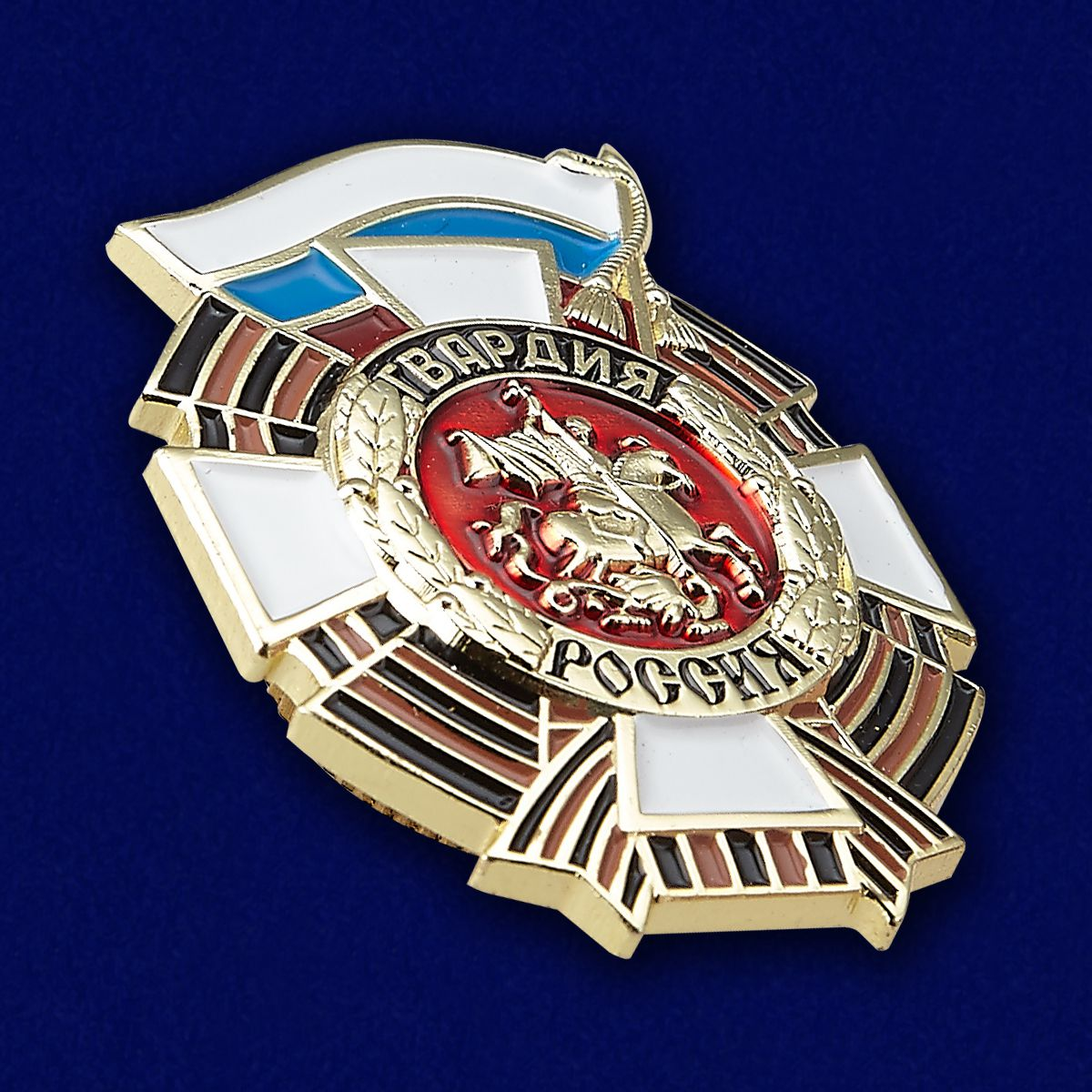 Нагрудный знак Гвардия Россия - общий вид