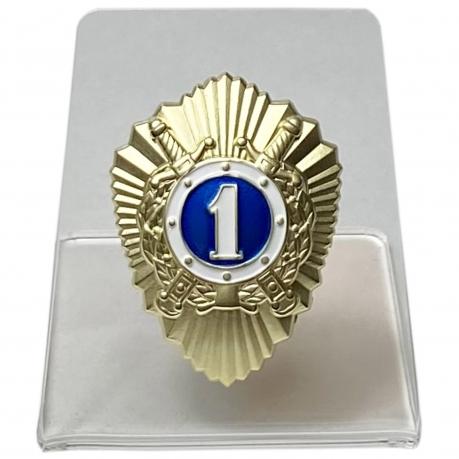Нагрудный знак Классного специалиста МВД на подставке