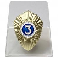 Нагрудный знак Классный специалист МВД на подставке