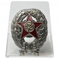 Нагрудный знак Краскома РККА на подставке