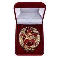 Нагрудный знак Красного командира РККА 1918 г.