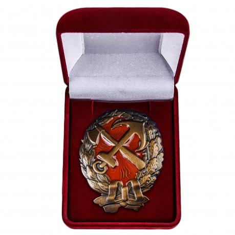 Нагрудный знак Красного командира ж.д. войск