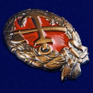 Нагрудный знак Красного командира ж.д. войск - общий вид
