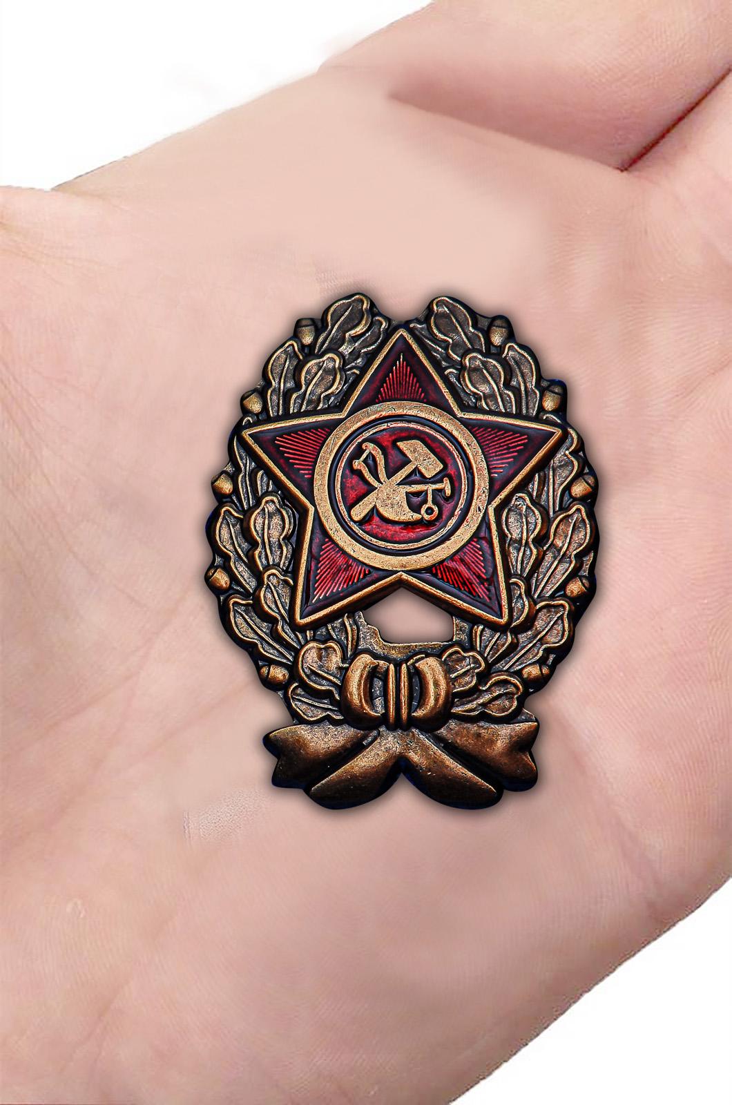 Заказать знак Красный командир (1918-1922 гг.)