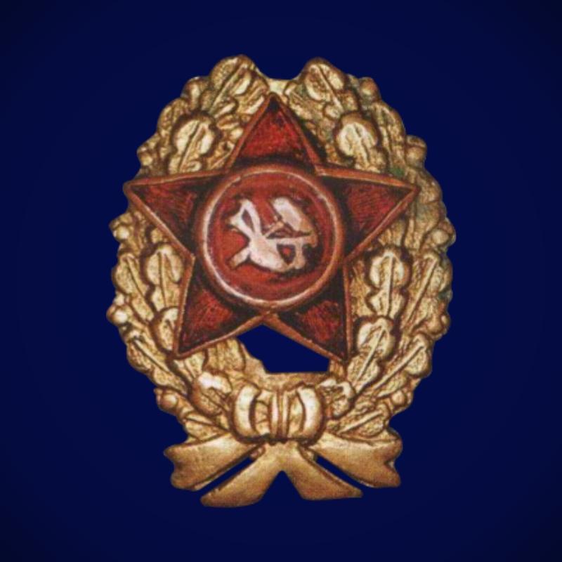 """Нагрудный знак """"Красный командир"""" (1918-1922 гг.)"""
