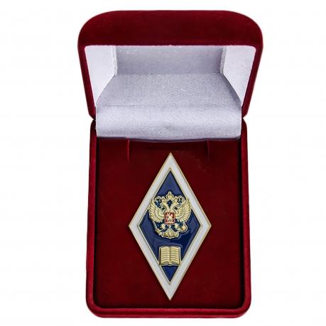 Нагрудный знак Об окончании гуманитарного ВУЗа РФ