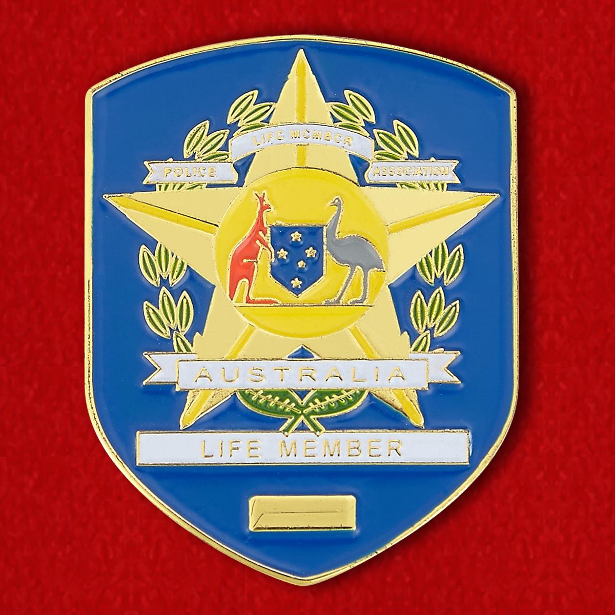 """Нагрудный знак """"Полиция Австралии"""""""