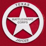 Нагрудный знак укротителя гремучих змей в Техасе