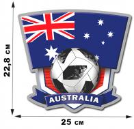Наклейка ЧМ-2018 с символикой сборной Австралии