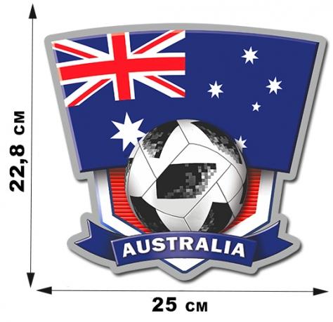 Наклейка с символикой сборной Австралии