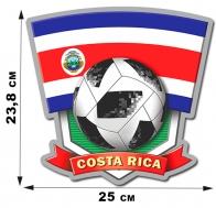 Наклейка сборной Costa Rica.