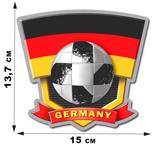 Наклейка сборной Германии