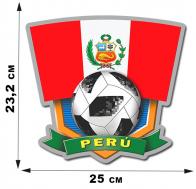 Наклейка со сборной Перу