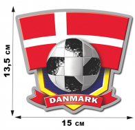 Наклейка DANMARK