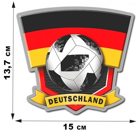 Наклейка Deutschland