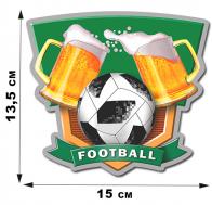 Наклейка для болельщиков FOOTBALL