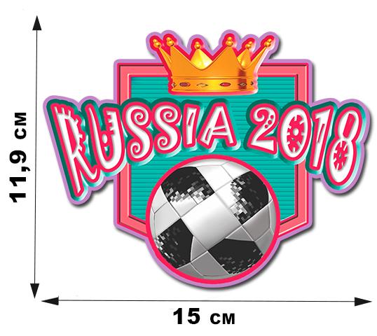 """Наклейка """"Большой Футбол""""!"""