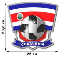 Наклейка Коста-Рика