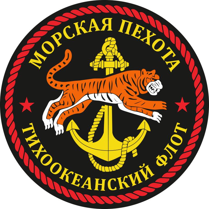 "Наклейка ""Морская пехота ТОФ"""