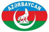 Наклейка на автомобиль Азербайджан