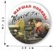 Наклейка на машину «Жуков Г.К. - маршал Победы»