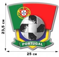 Наклейка Portugal - классный атрибут болельщика