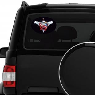 Наклейка с символикой Войск ПВО на машину