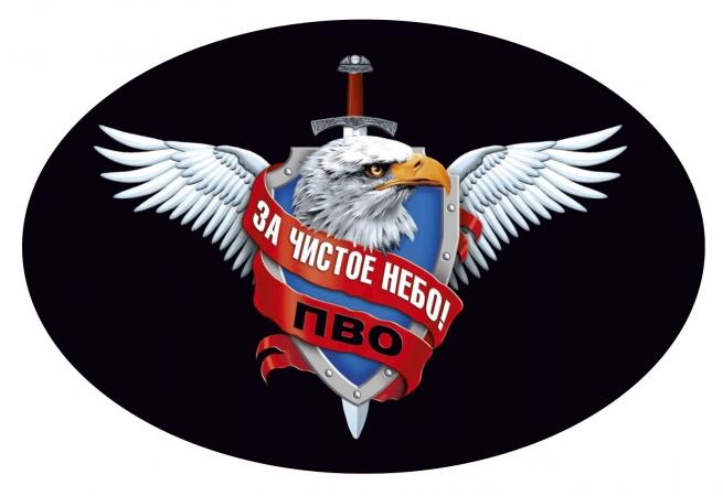 Наклейка с символикой Войск ПВО