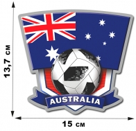 Наклейка сборной Австралии