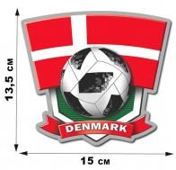 Наклейка сборной Дании