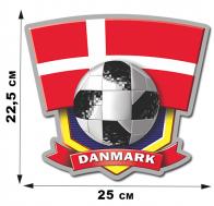 Наклейка сборной DANMARK