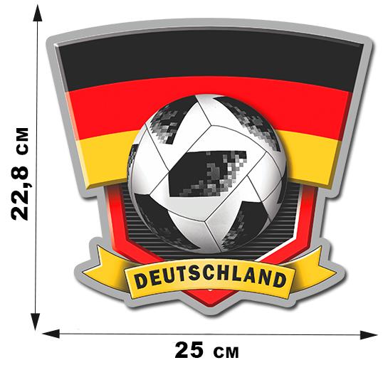 Наклейка сборной Германии FIFA