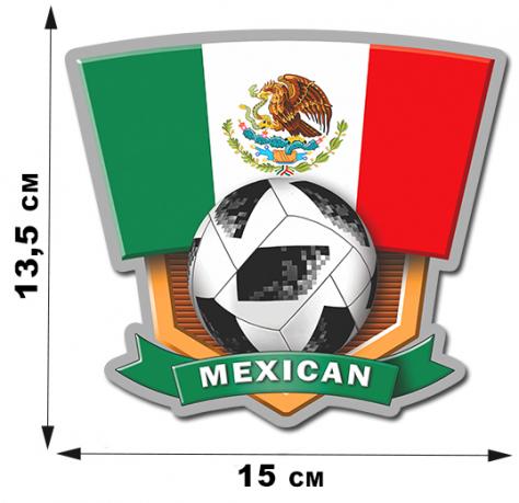 Наклейка сборной Мексики