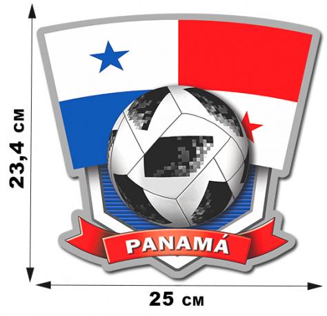 Наклейка сборной Панамы