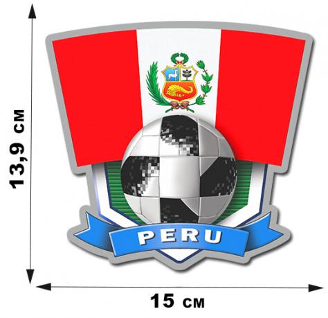 Наклейка сборной Перу FIFA