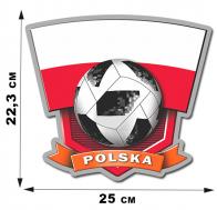 Наклейка сборной POLSKA.