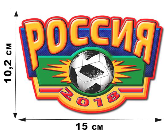 Российская футбольная наклейка