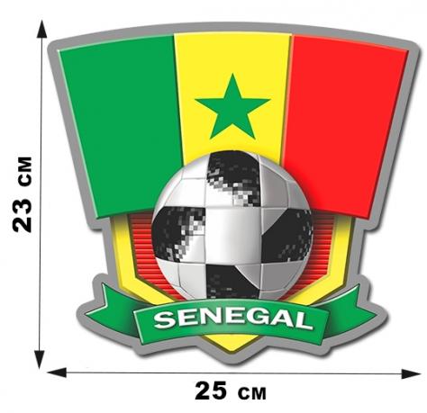 Наклейка сборной Сенегала